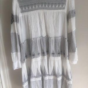 ea320d52b35c Zara Dresses | Mini Embroidered Contrasting Dress | Poshmark
